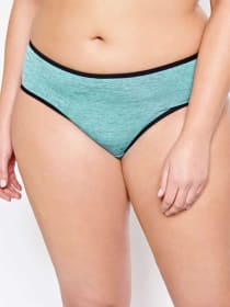 Hipster Panty with Black Trims Base - Déesse Collection