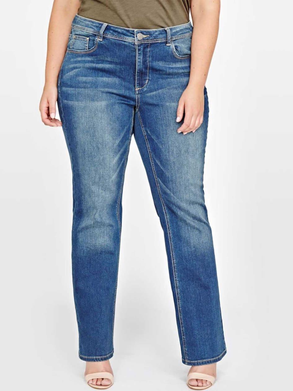 L&L Barely Boot Cut Jean