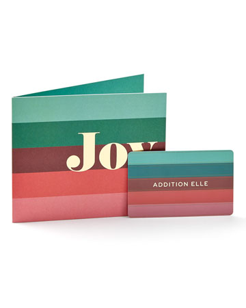 Addition Elle Gift Card - Stripes