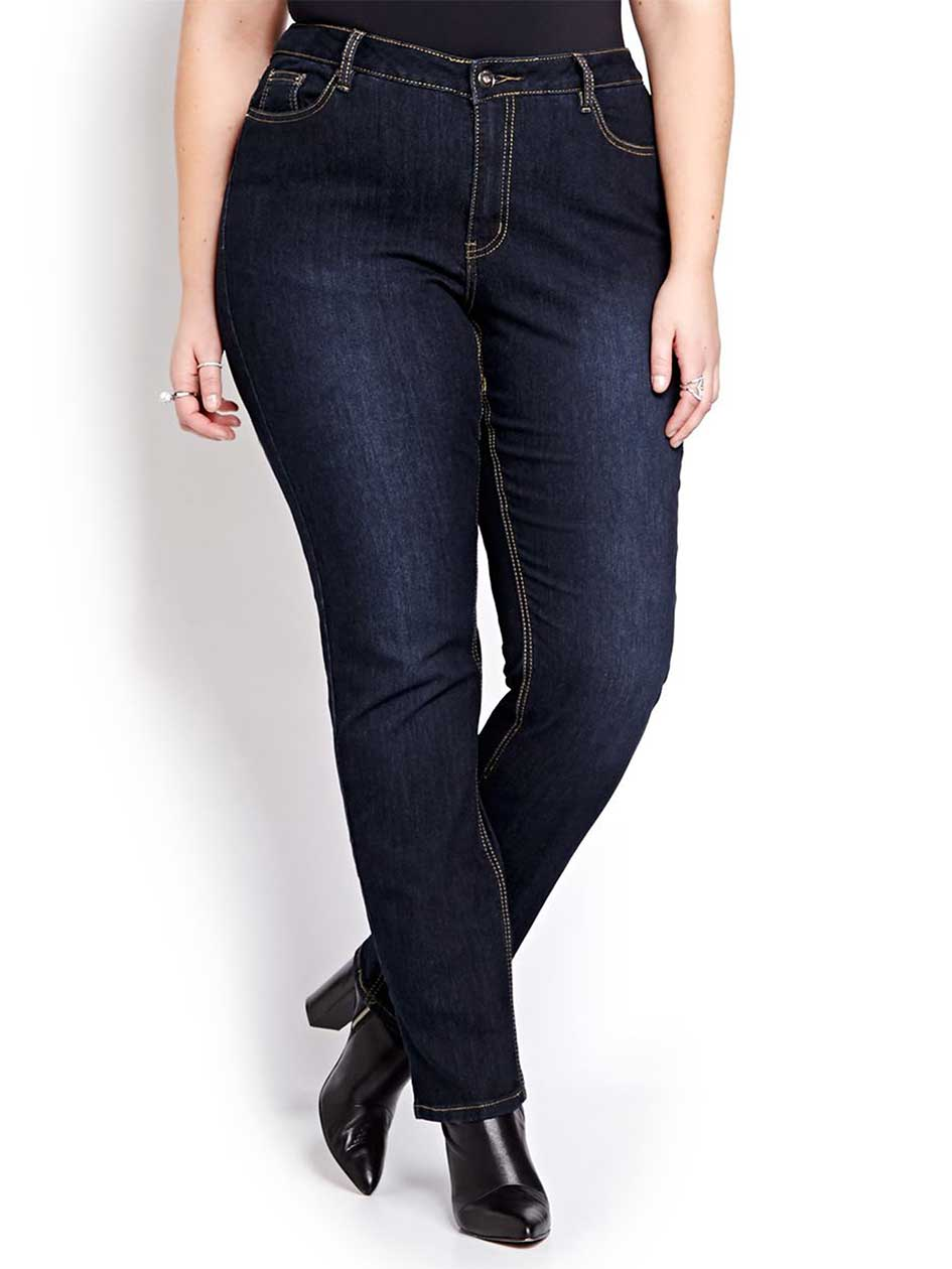 L&L Shaped Dark Wash Sculpting Jean