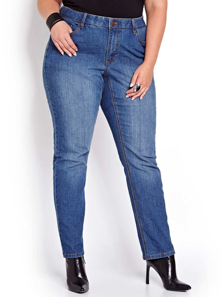 Love & Legend Curvy Medium Wash Jeans