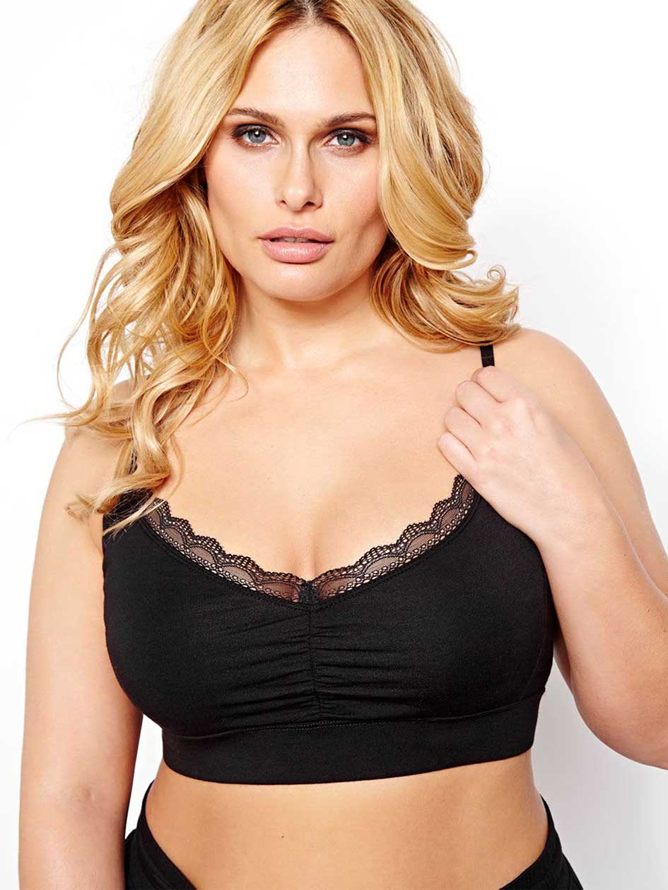 French Terry Bralette - Déesse Collection