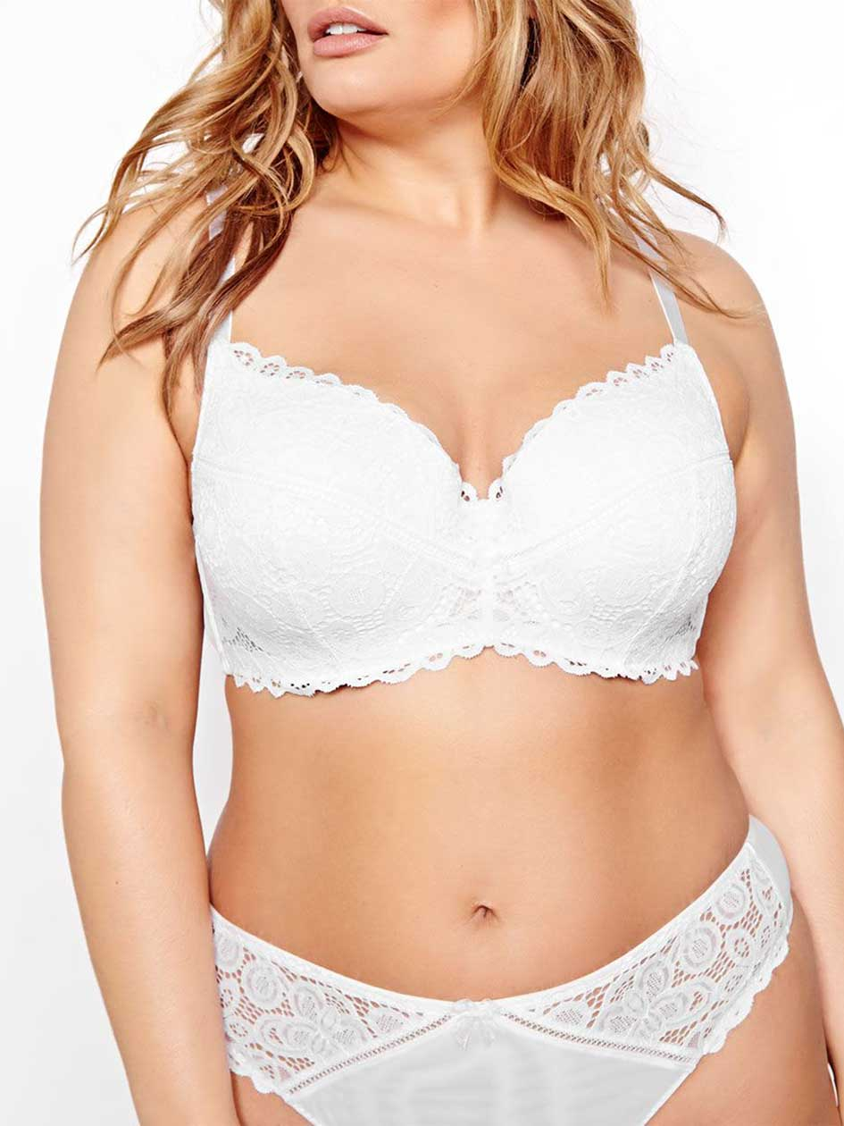 Contour Flirt Bra with Lace - Déesse Collection