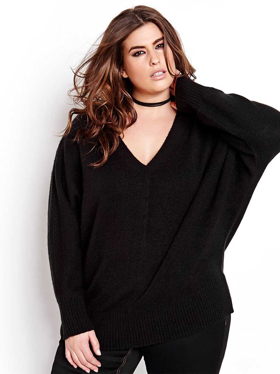 L&L Sweater with Dolman Sleeves