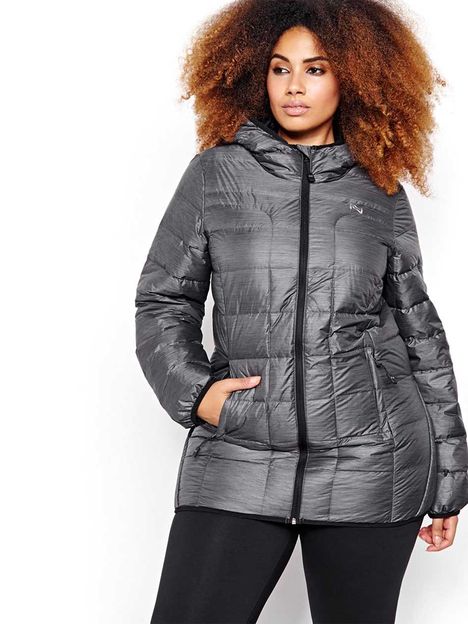 Nola Quilted Jacket with Mock Neck