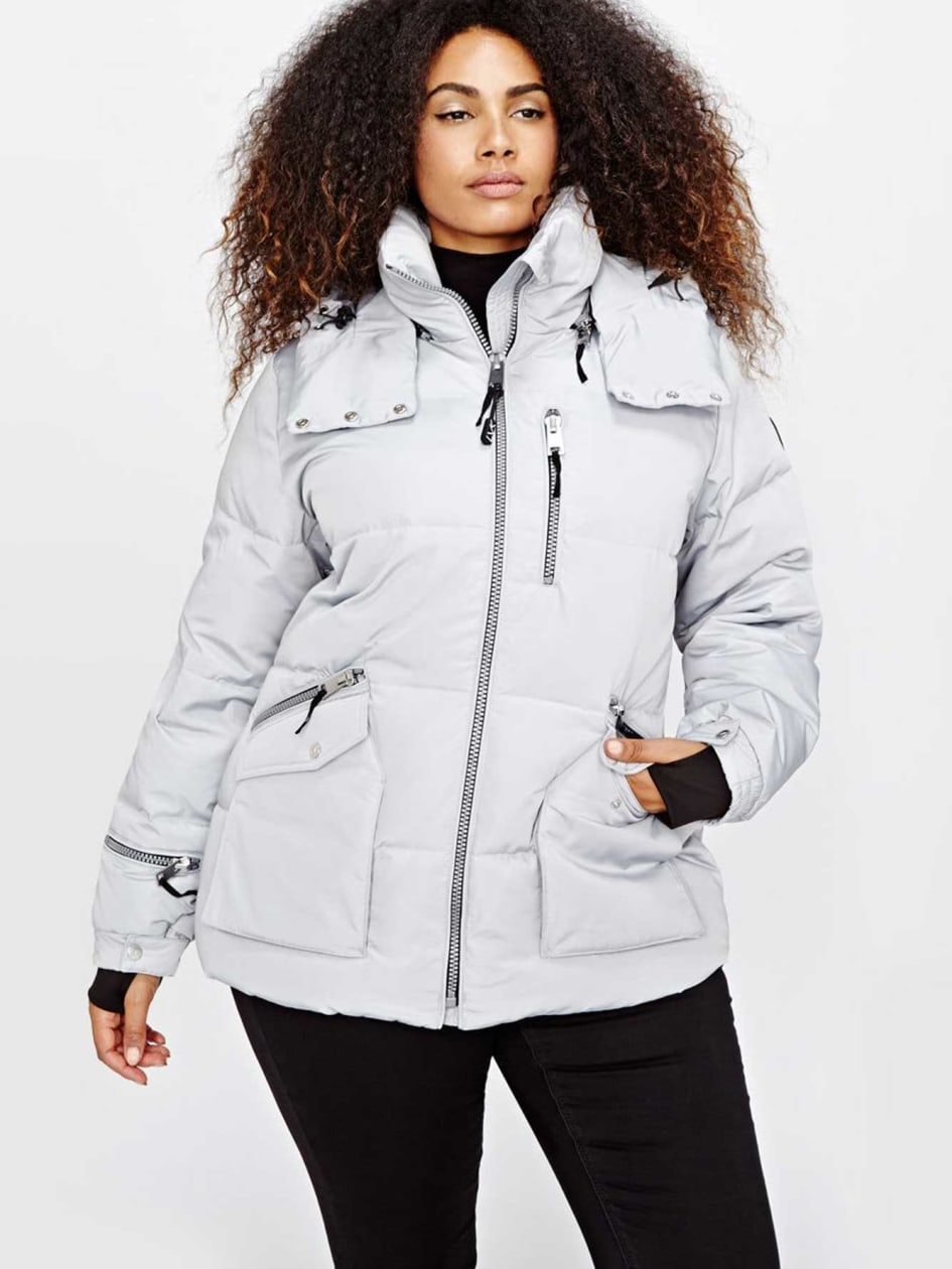 Livik Hooded Crop Puffer Jacket