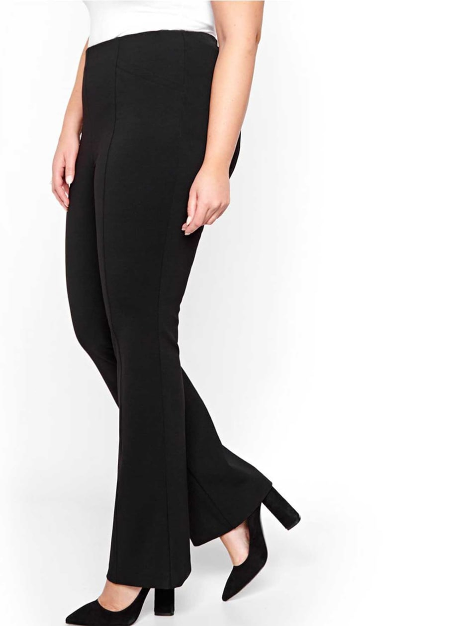 Michel Studio Taylor Flared Pull-on Pants
