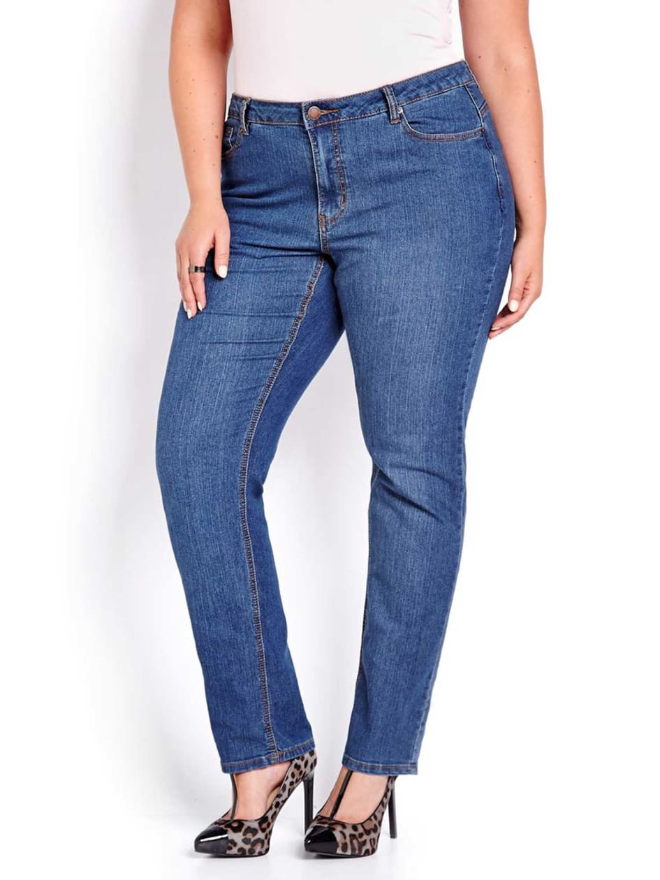 L&L Shaped Straight Cut Jeans