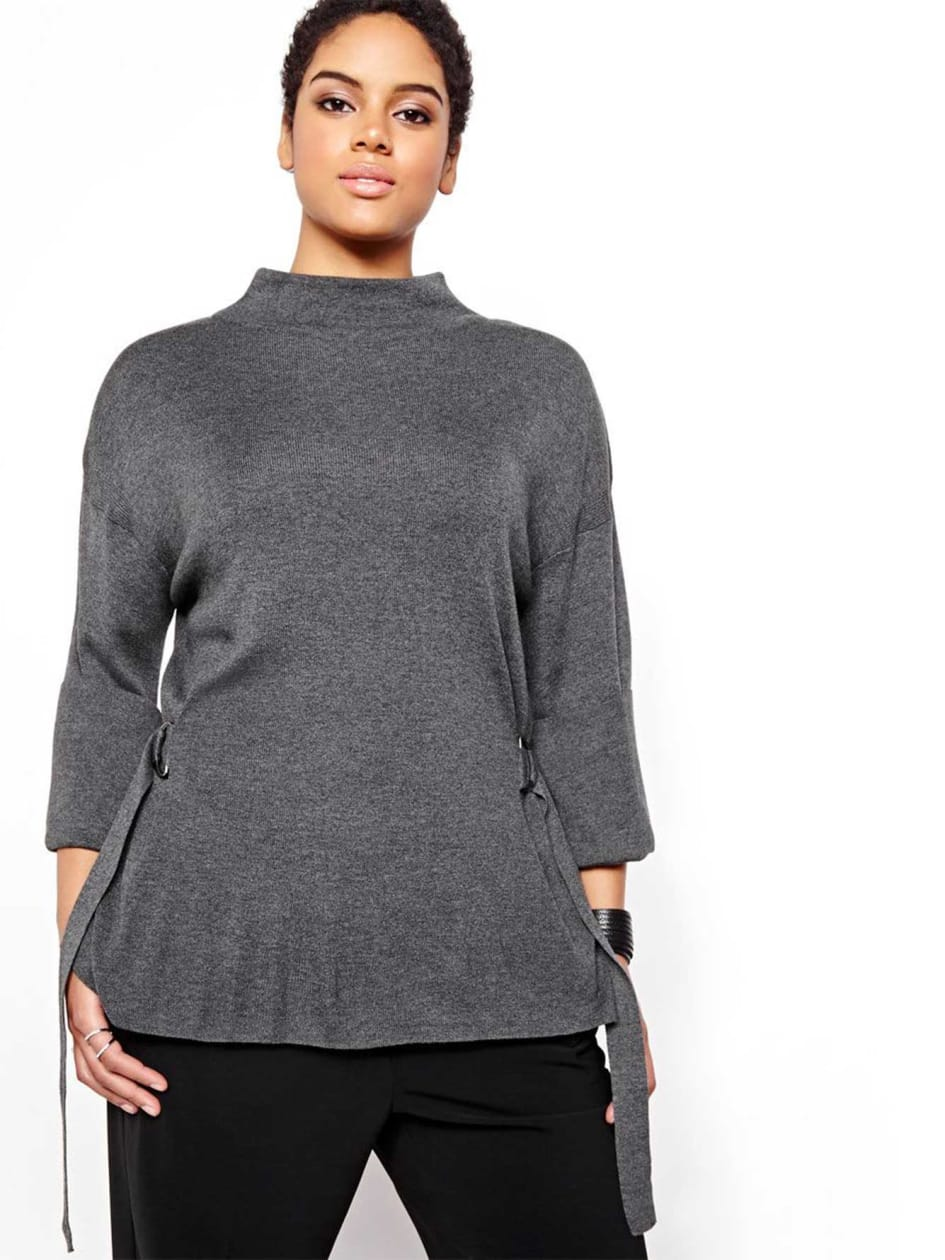 Michel Studio Funnel Neck Sweater