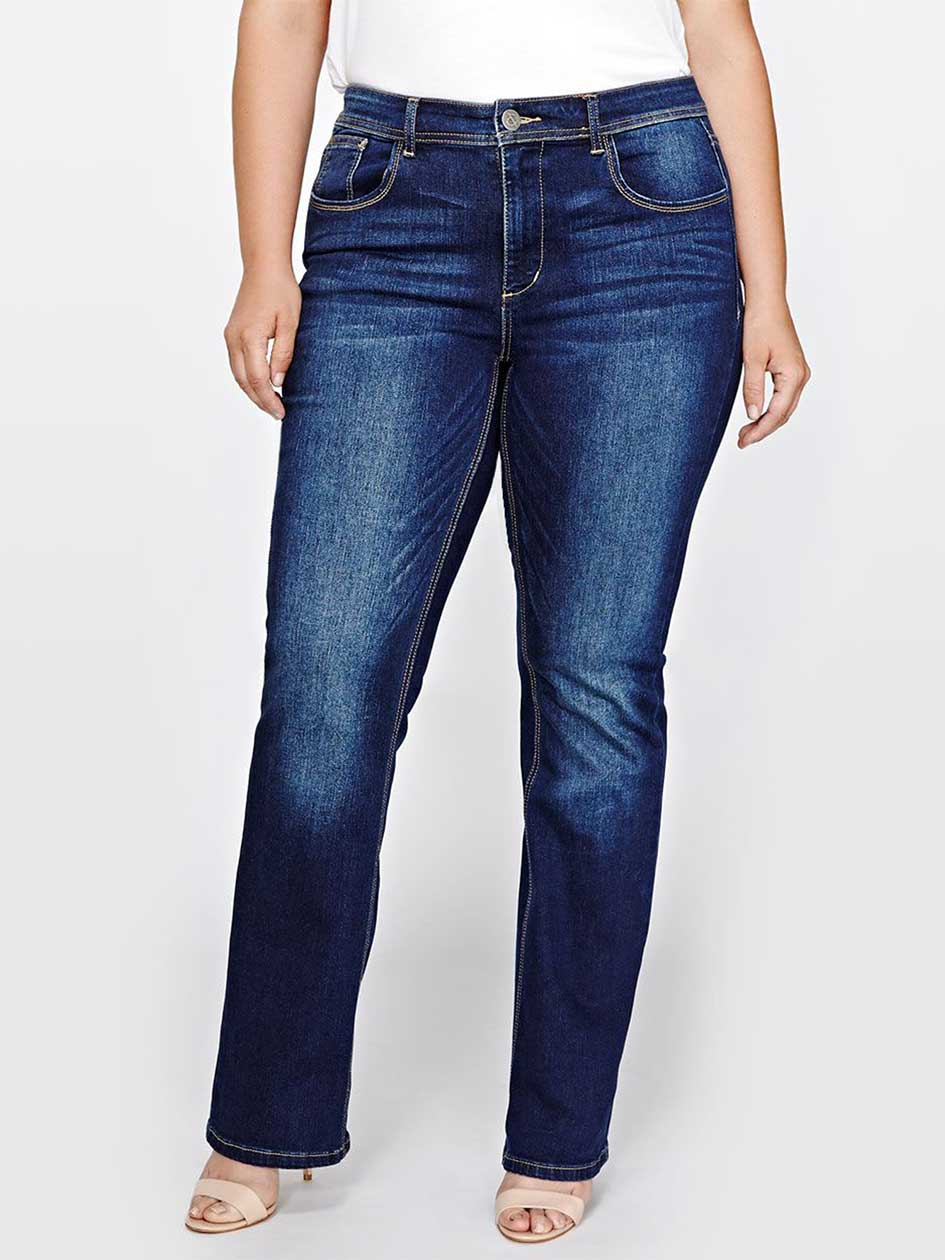 L&L Authentic Barely Boot Leg Jeans