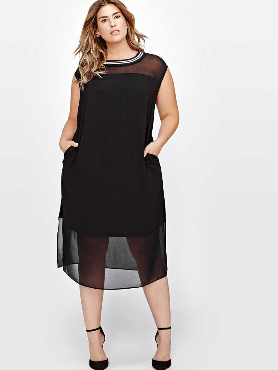 Rachel Roy Midi Shift Dress