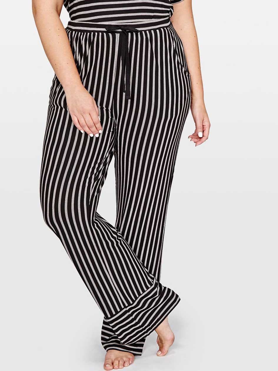 Pantalon de pyjama à rayures - Collection Déesse