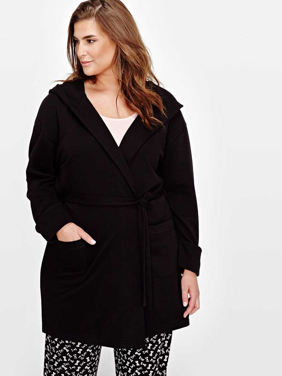 Long Sleeve Hooded Robe - Déesse Collection
