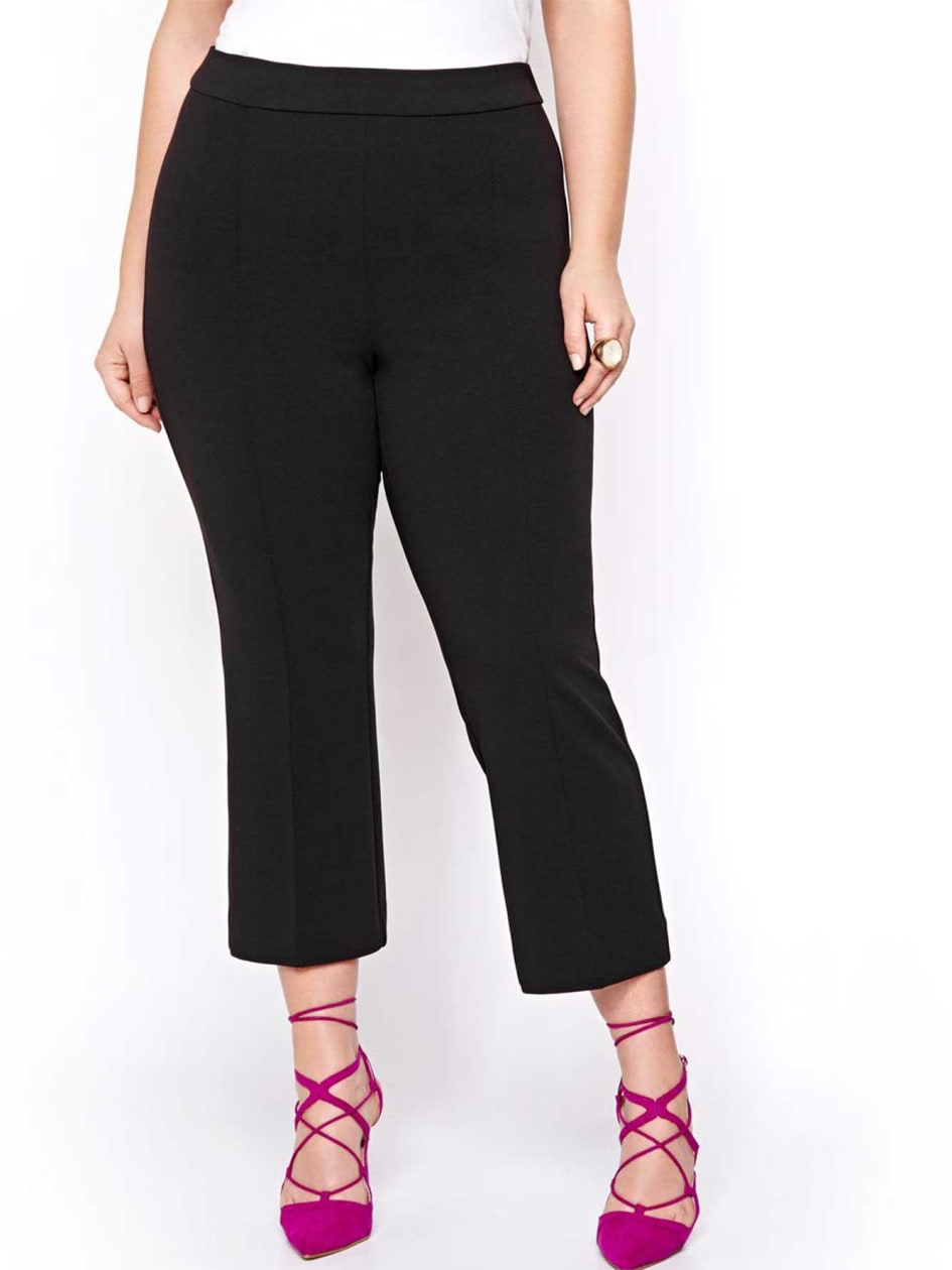 Michel Studio Kick Crop Flare Pant