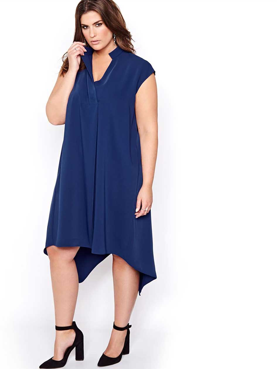Rachel Roy High Low Shift Dress