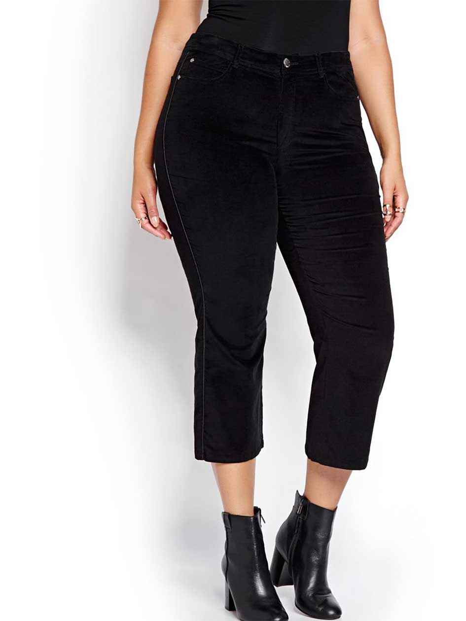 L&L Baby Flare Cropped Pant