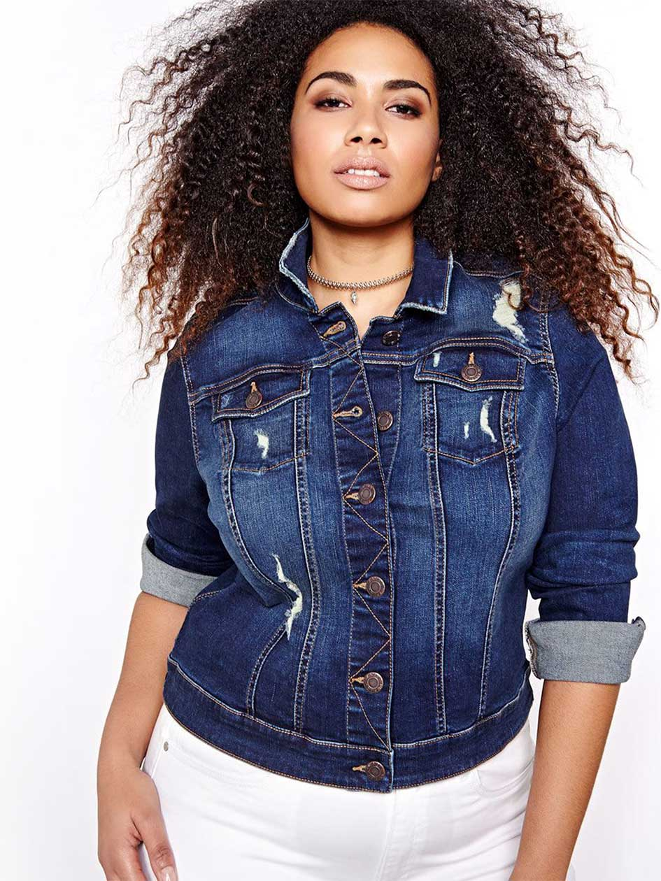 L&L Distressed Denim Jacket