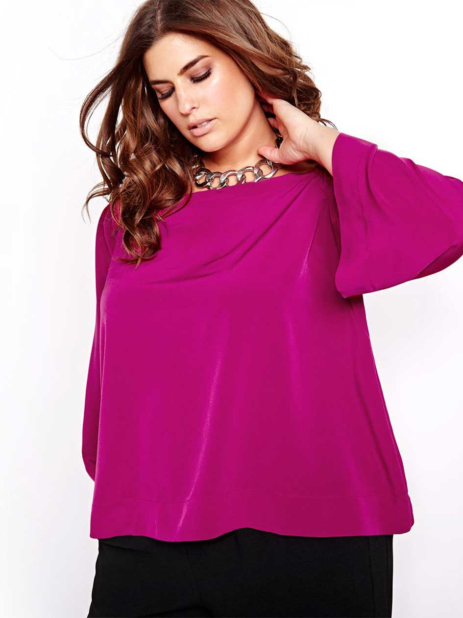 Rachel Roy Bright Off-The-Shoulder Blouse