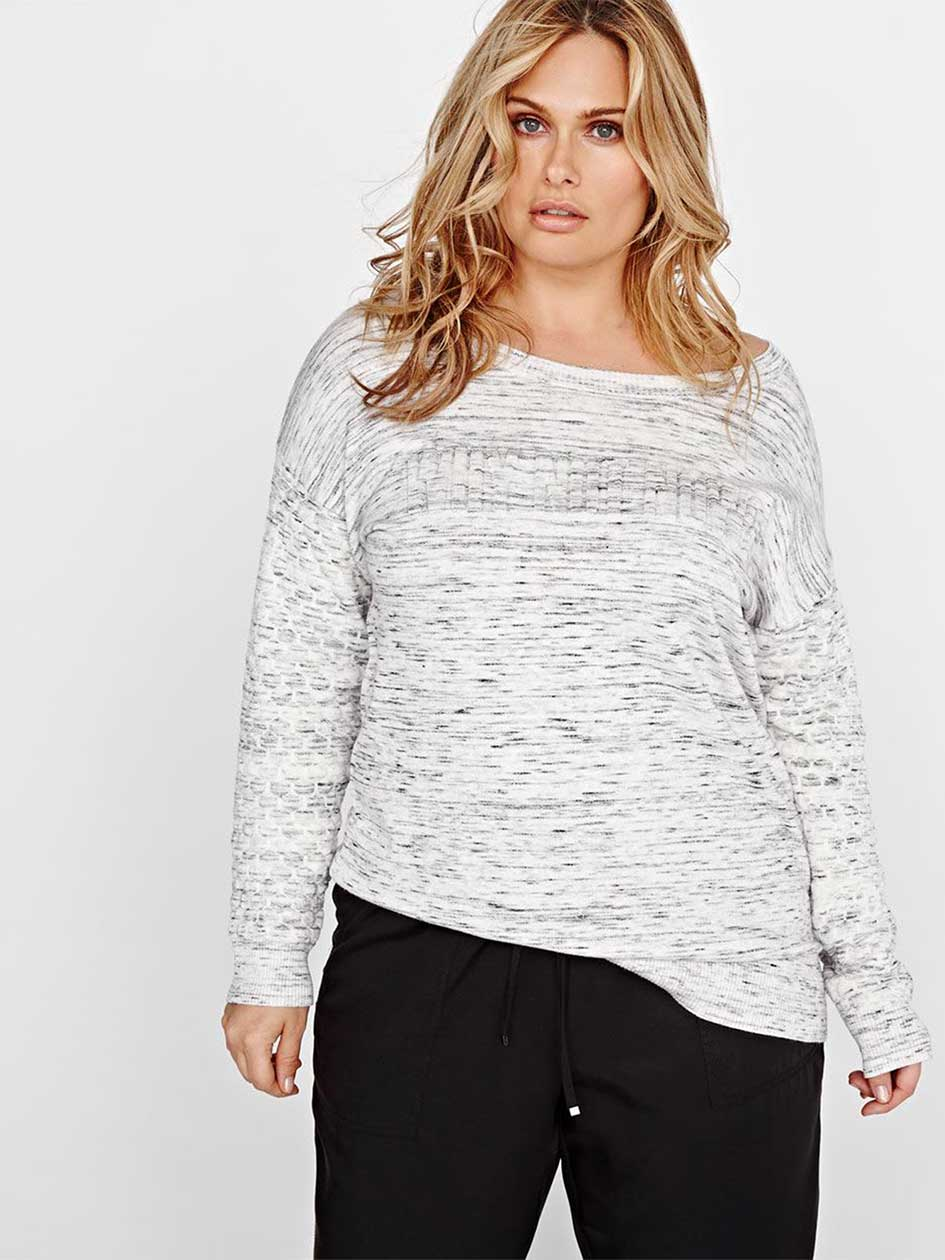 L&L Textured Heather Sweater