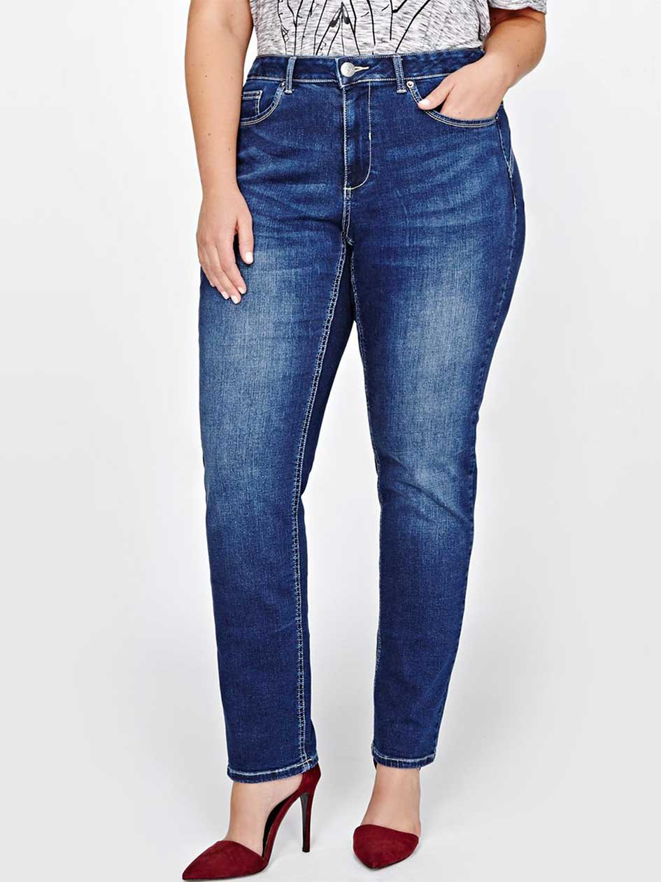 L&L Super Sculpt Slim Leg Jean