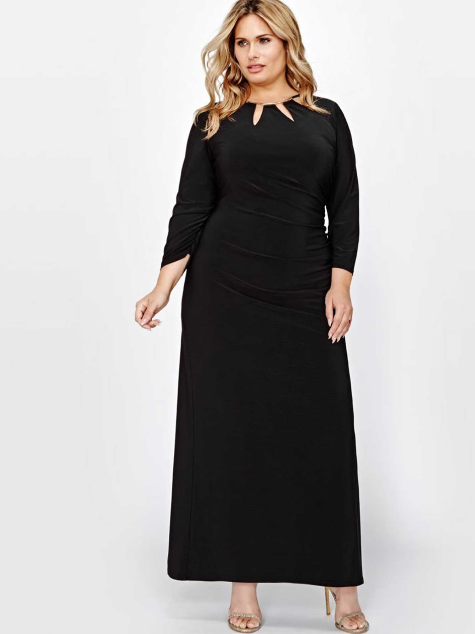 Scarlet Black Maxi Dress