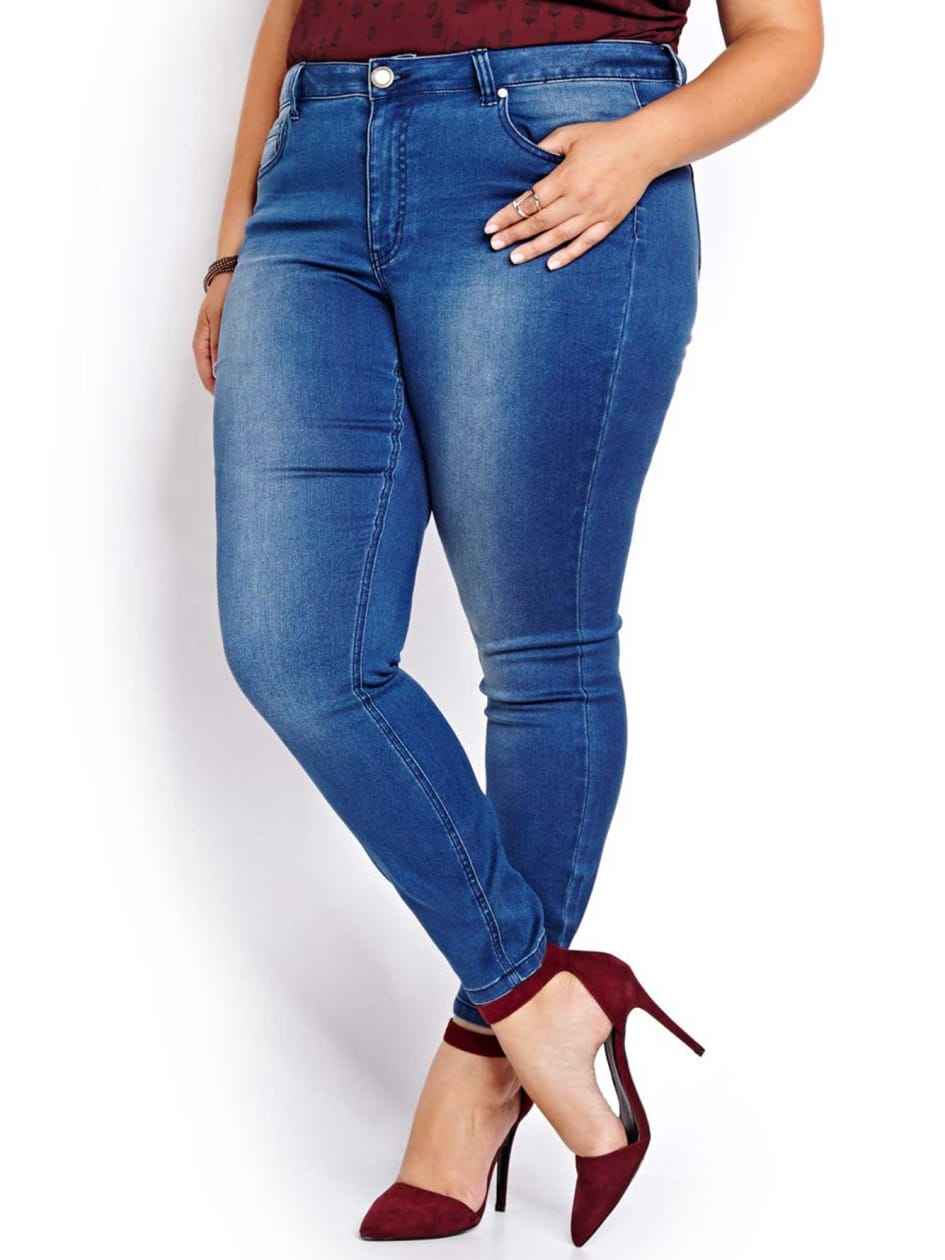 L&L Super Soft Blue Jegging