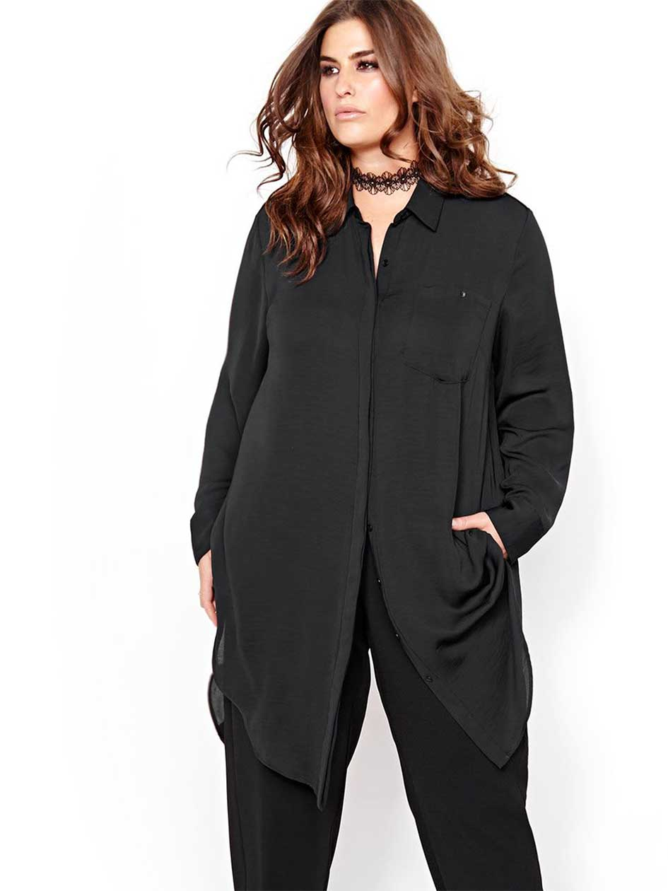 Rachel Roy Envelope Back Tunic