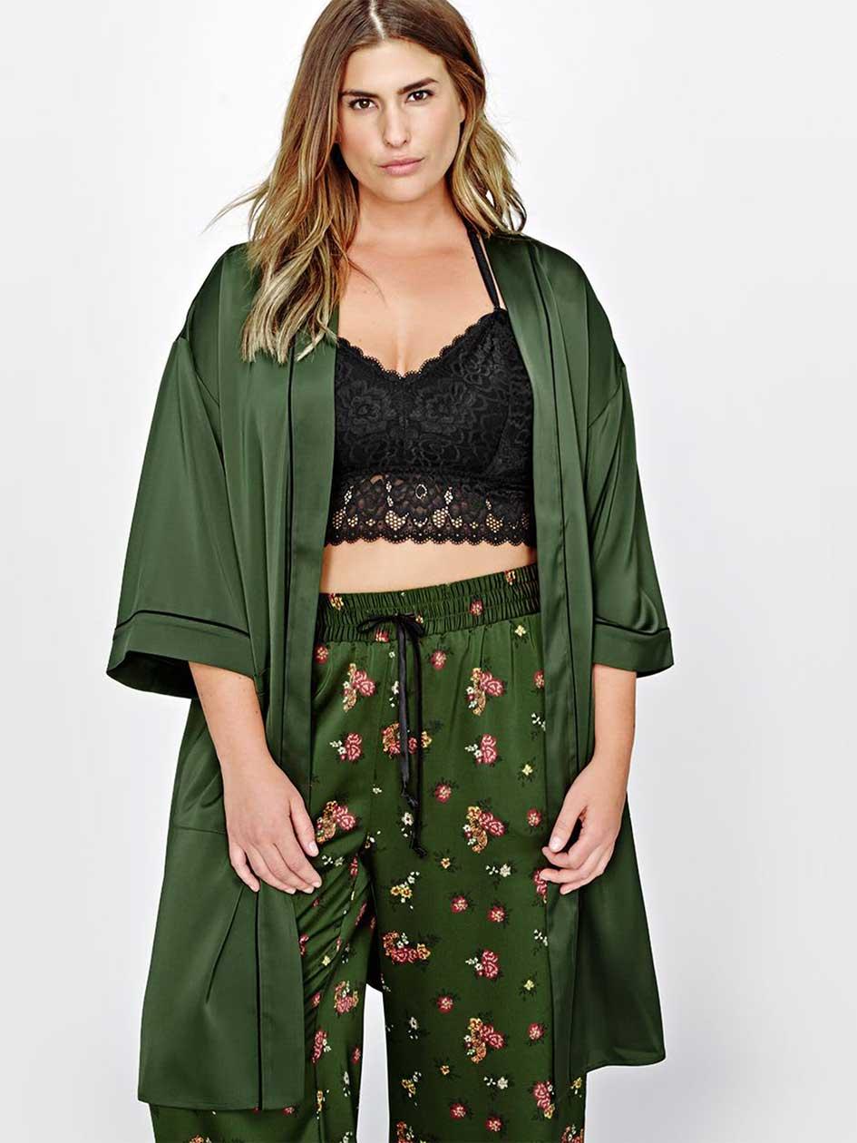 L&L Embroidered Kimono