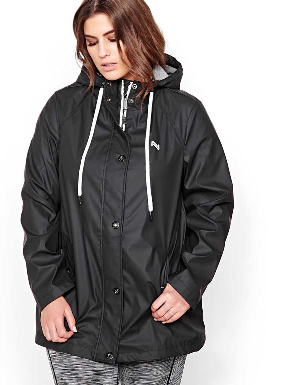 Nola Rain Jacket.black.X