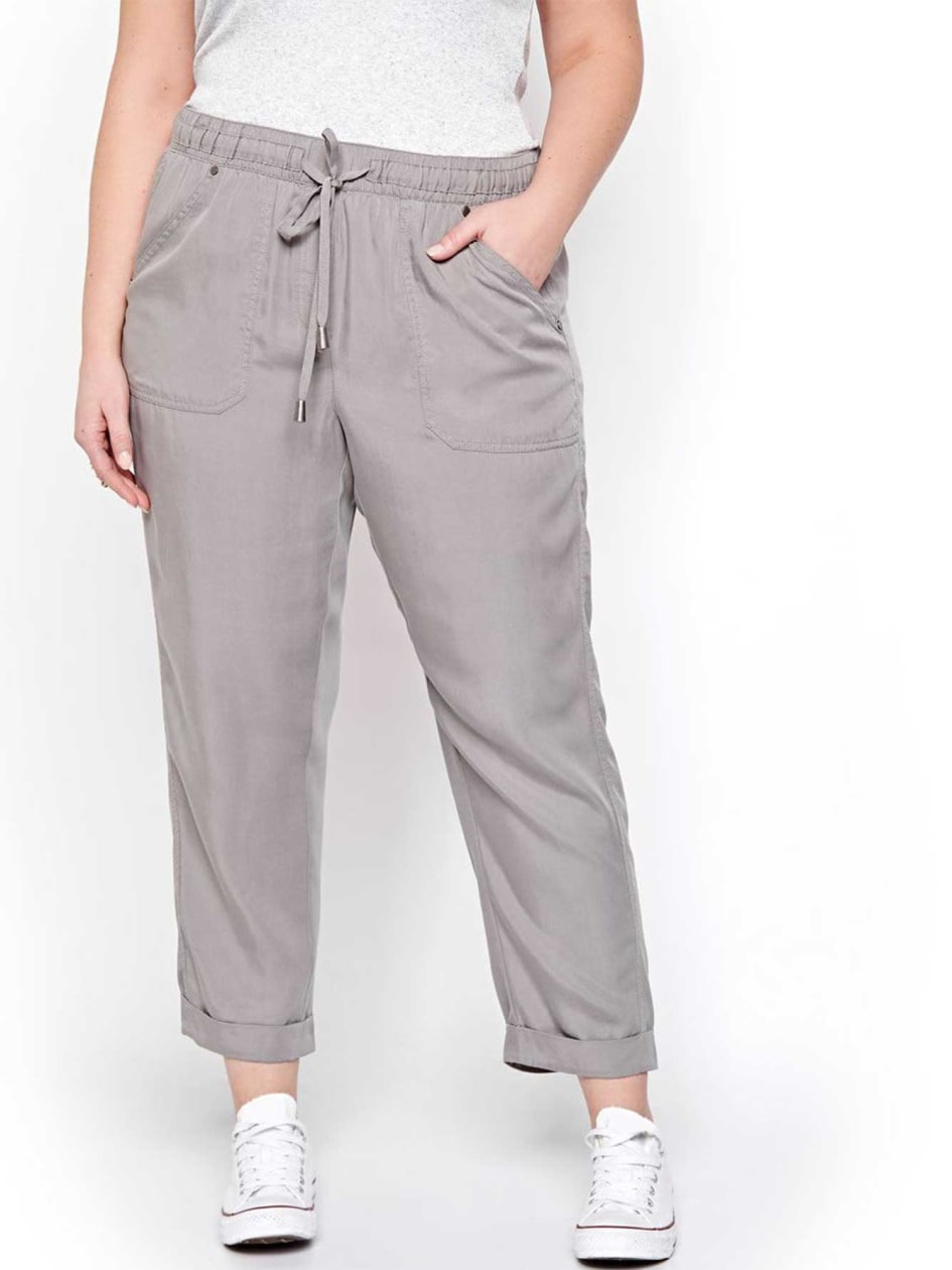 L&L Cropped Pant with Pockets