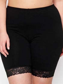 Cotton Spandex Long Leg Panty - Déesse Collection