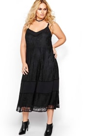L&L Lace Slip Dress