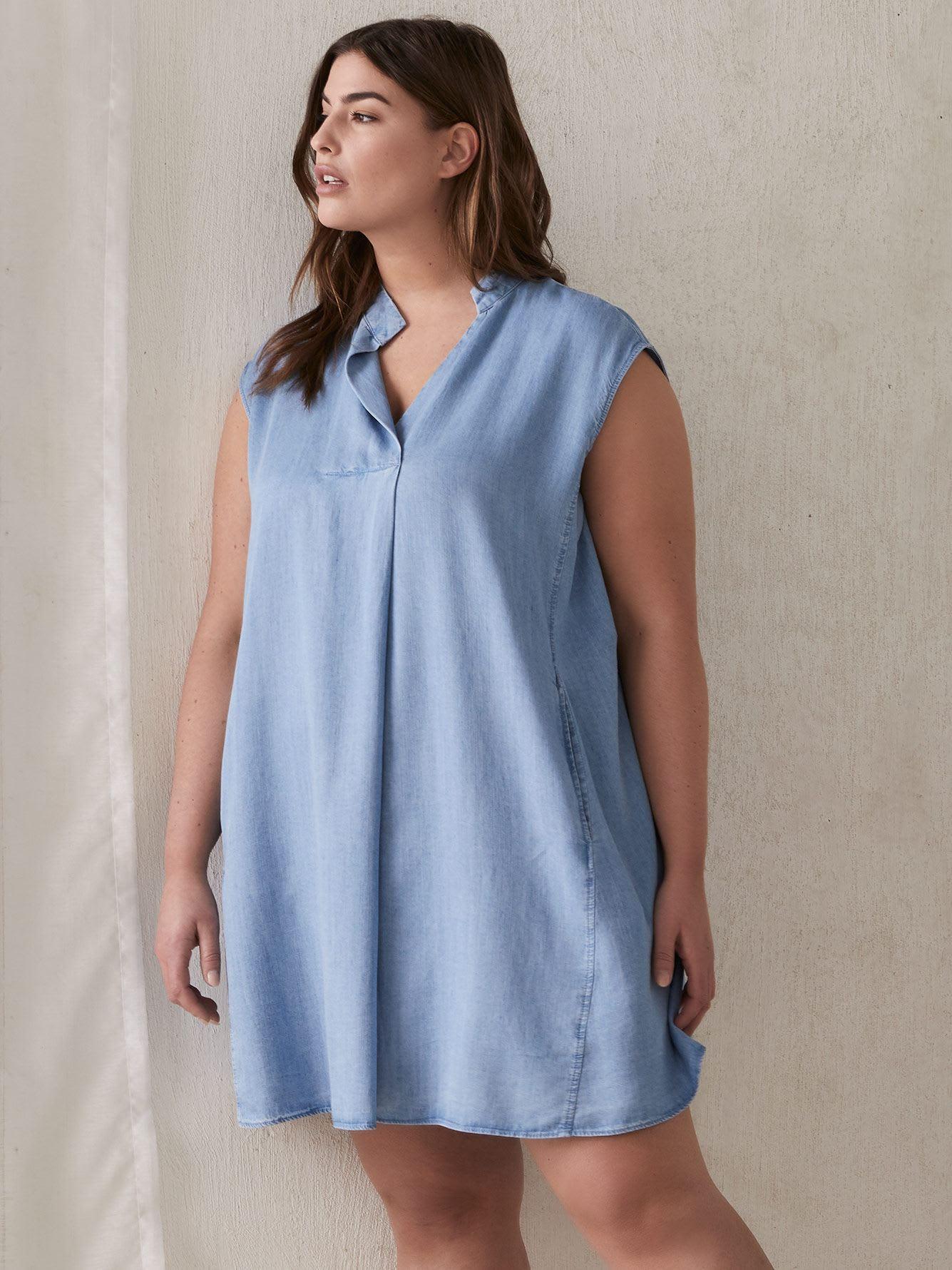 08472ac64 Chambray Harper Dress - RACHEL Rachel Roy | Addition Elle