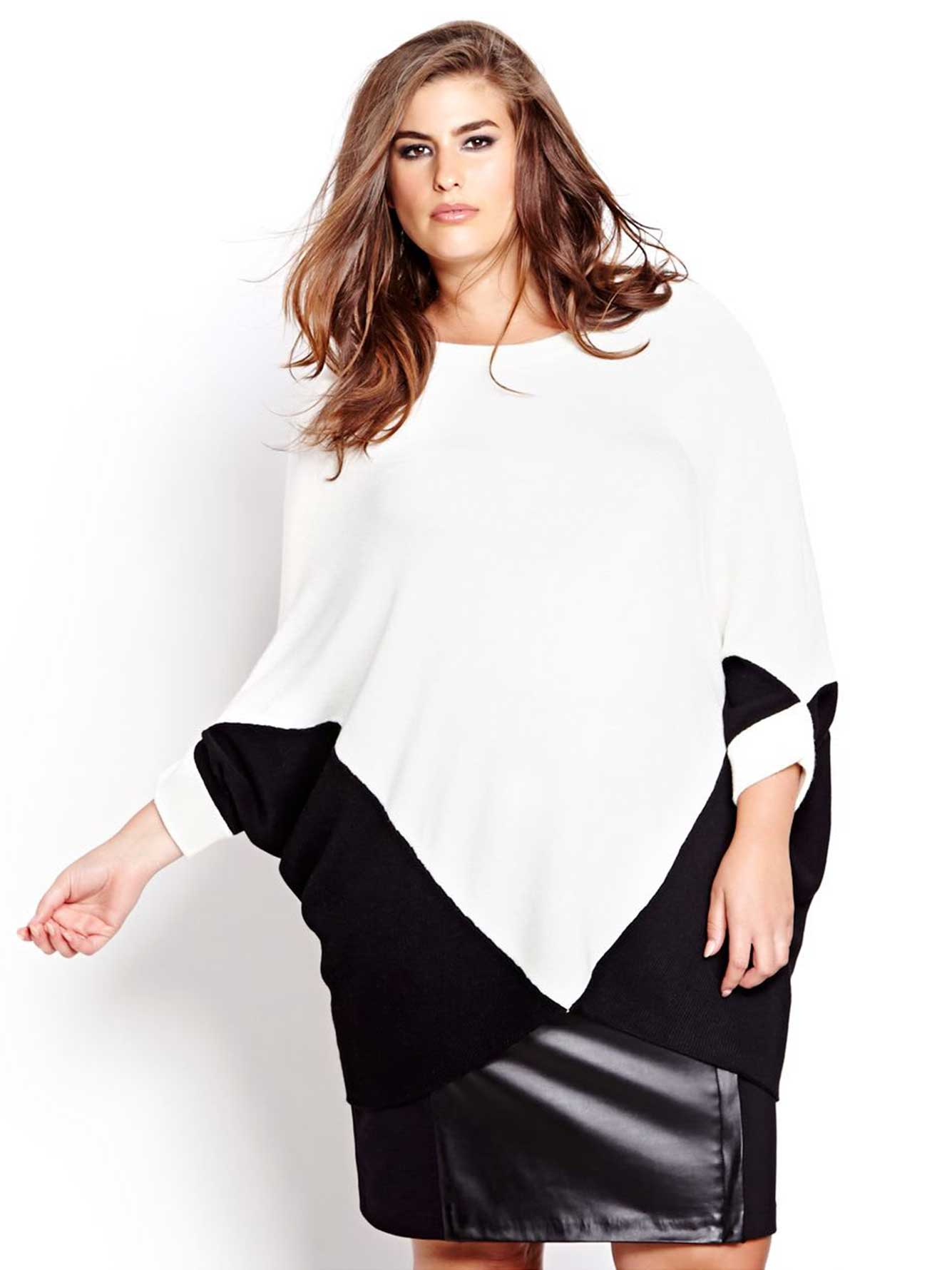 Katherine Barclay Color Block Batwing Sweater  9fde257d6