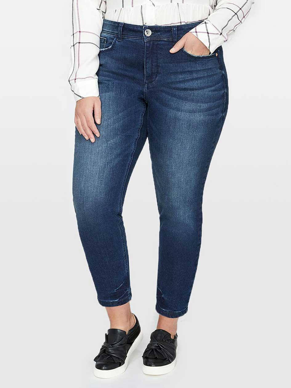 L&L Authentic Baked Wash Skinny Jean, Tall