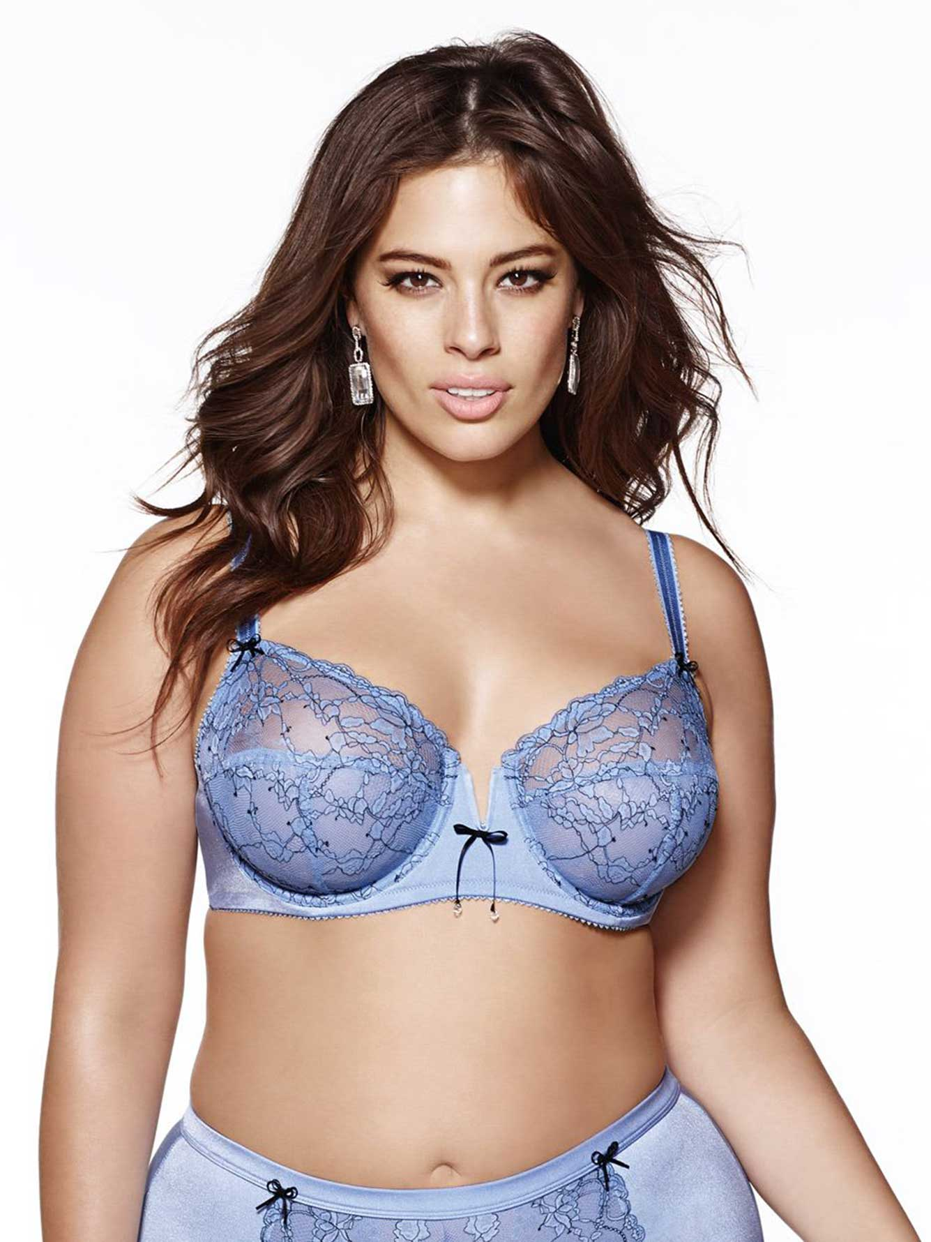 Ashley Graham - Lace Underwire Bra, Sizes G & H | Addition Elle