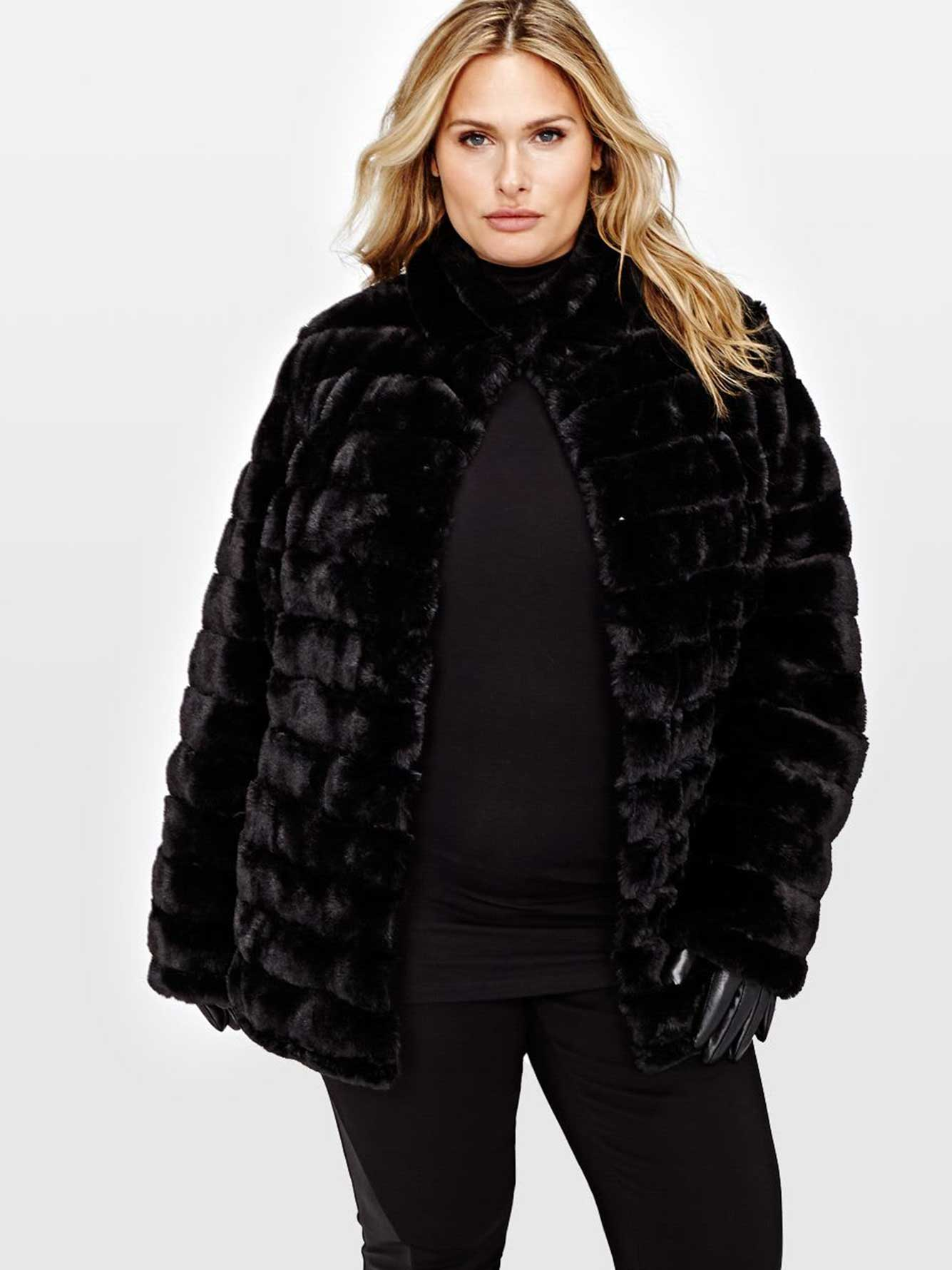 L&L Reversible Faux Fur Jacket