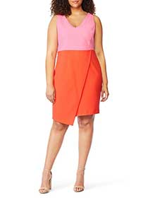 Color Block Dress - Rebel Wilson X Angels