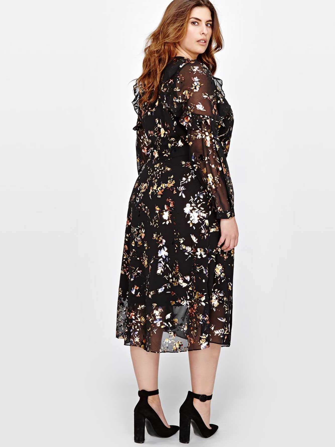 Rachel Roy Flowy Wrap Dress | Addition Elle