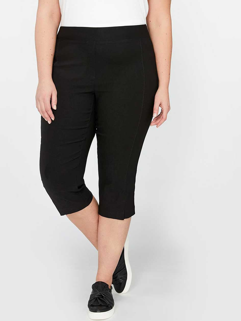 Michel Studio Alexa Capri Pant with Slit