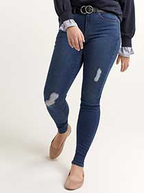 Medium Wash Super-Soft Jegging - L&L