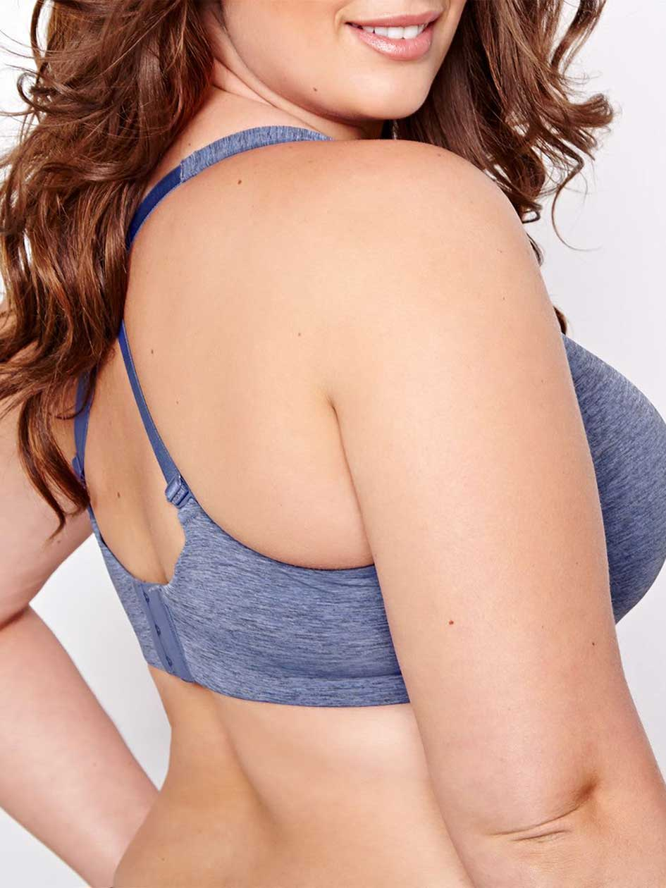 Basic Flawless T-ser Bra with Black Base - Déesse Collection