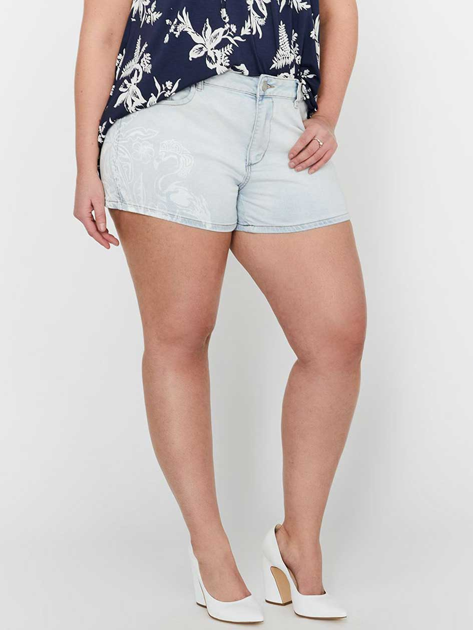 L&L Printed & Distressed Festival Short