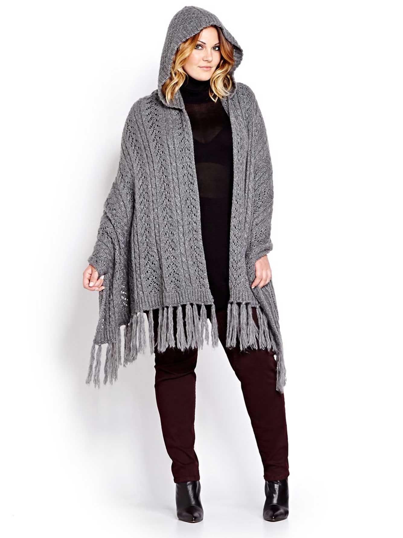 cape en tricot