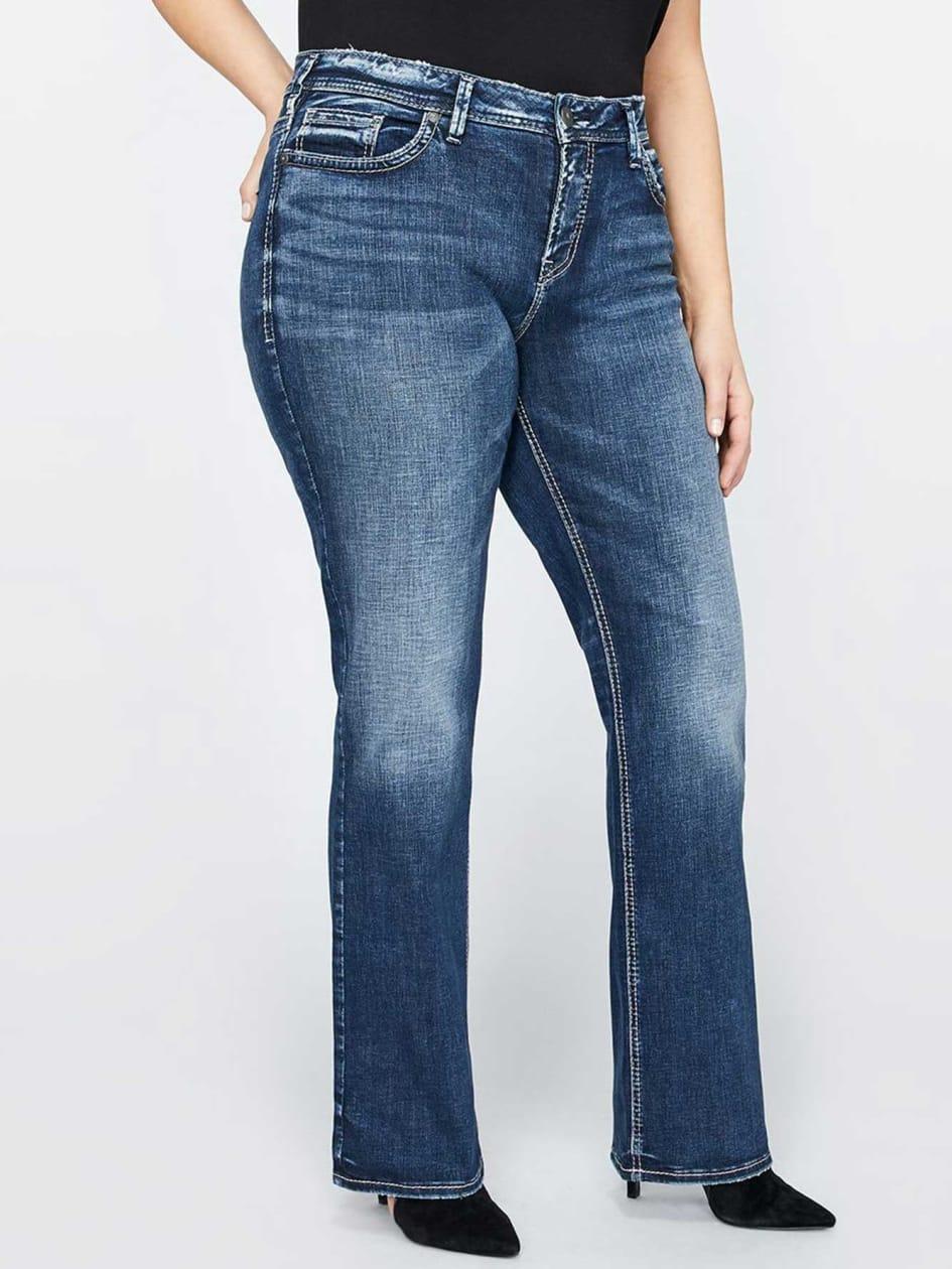 Silver Suki Slim Boot Jean