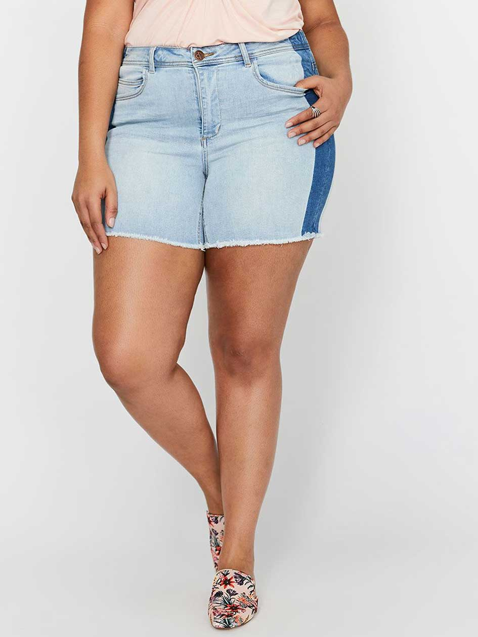 L&L Authentic Shorts with Contrasting Sides