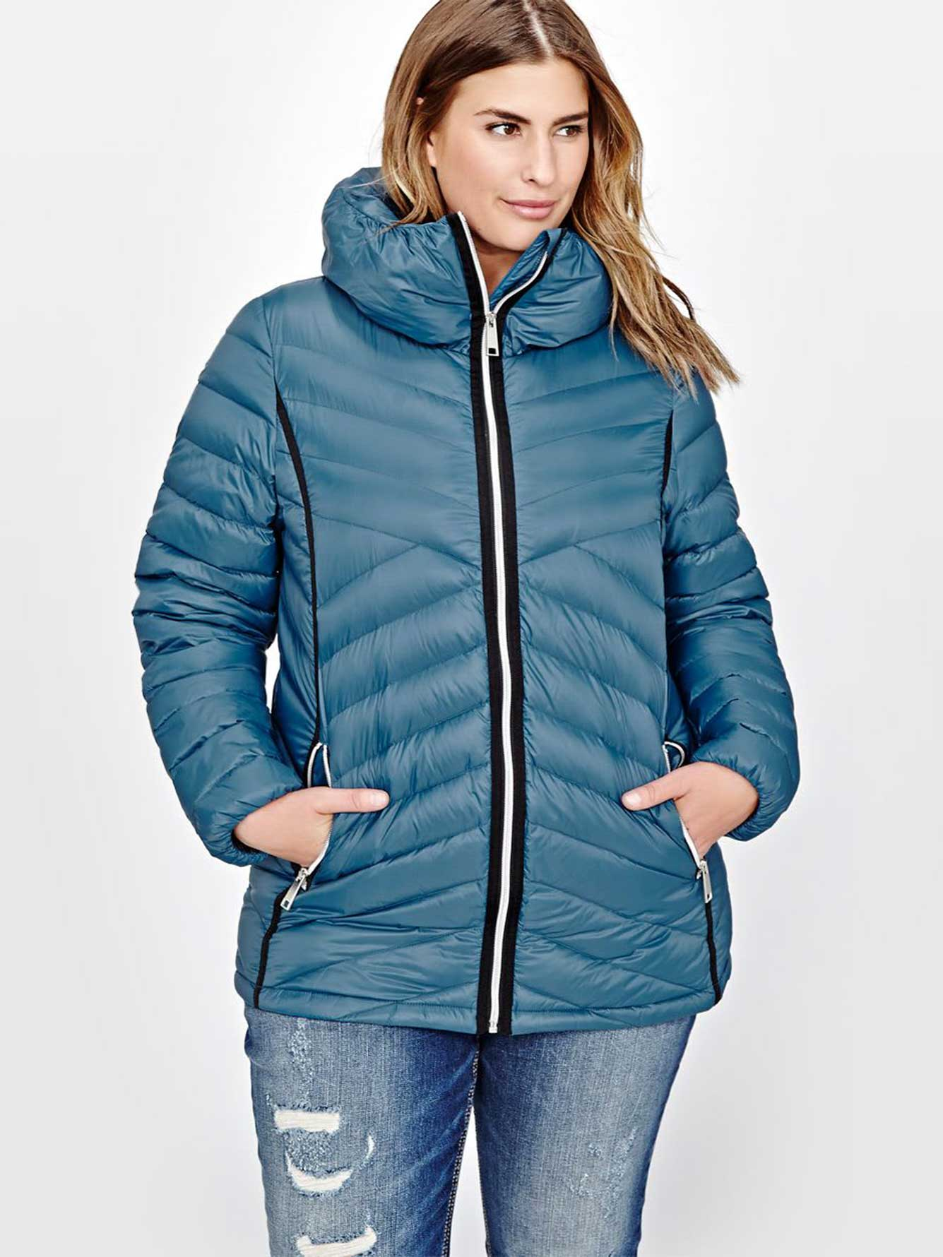 Livik Short Packable Quilted Jacket   Addition Elle : short quilted jacket with hood - Adamdwight.com