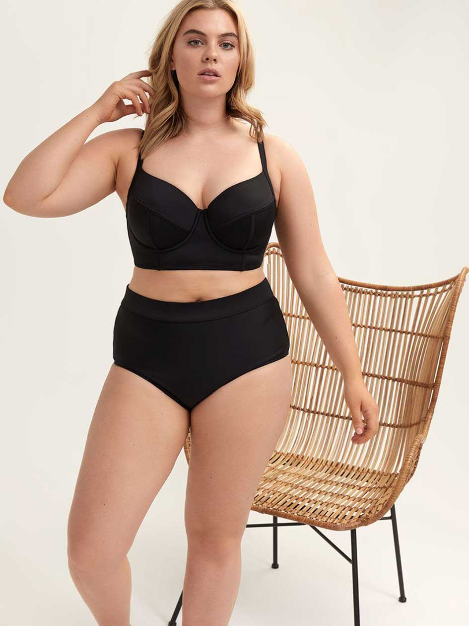 7d8f802f9d5 Women's Plus Size Swimwear | Addition Elle Canada