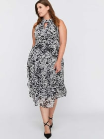 Chiffon Midi Dress - RACHEL Rachel Roy