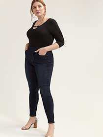 Super Soft Dark Jegging - L&L